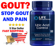 Controls Gout ⭐ Life Extension ⭐ Uric Acid Control ⭐60 Count USA Trusted Dealer