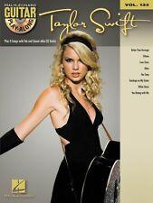 Taylor Swift Sheet Music Guitar Play-Along Book and CD NEW 000701894