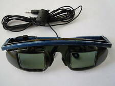 3D LCD WIRED SHUTTER GLASSES FOR ANY SYSTEM WITH STEREO GLASSES JACK