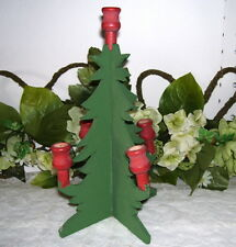 CHRISTMAS TREE FOR CANDLES WEIS 1990 MADE OF WOOD