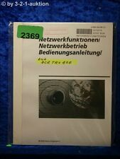 Sony Bedienungsanleitung DCR TRV80E Netzwerk Digital Video 8 Camera (#2369)