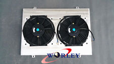 Alloy Shroud + Fans for HOLDEN WB STATESMAN UTE SEDAN 253 & 308 V8 1980-1984