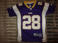 Minnesota Vikings Adrian Peterson Reebok NFL Jersey Youth S 6-8 children