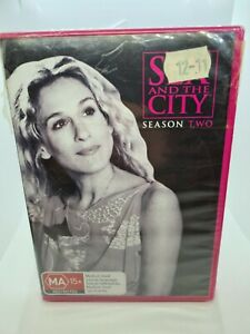 Sex And The City : Season 2 Brand New & Sealed R4