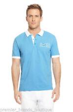 Camicie casual e maglie da uomo blu HUGO BOSS in cotone