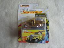 Mattel:  2019 Matchbox 50th Anniversary Superfast:  '32 Ford Pick-Up NIP