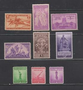US,894-902,1940 COMPLETE YEAR,MNH VF-XF, 1940'S COLLECTION MINT NH,OG