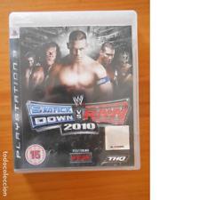 PS3 SMACKDOWN VS RAW 2010 - EN INGLES - COMPLETO - PLAYSTATION 3 (5I)