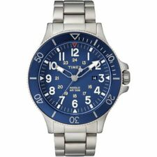 Timex Allied Coastline 43MM stainless steel blue dial TW2R46000 Sale