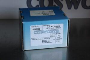 Suzuki RMZ 250 Forged Piston Kit 14.25:1 CR 77mm COSWORTH High Compression Race