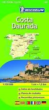 COSTA DAURADA MAP - NEW - MICHELIN 148 - SPAIN - ZOOM MAPPING