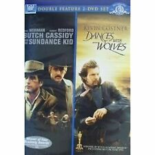 Double Feature: Butch Cassidy & the Sundance Kid / Dances With Wolves (Dvd) New