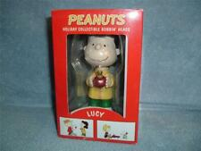 LUCY Peanuts Holiday Collectible Bobbin' Heads Target Exclusive bobbleheads New
