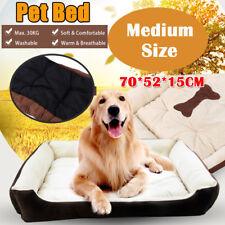 Pet Bed Mattress Dog Cat Pad Mat Cushion Cotton Soft Warm Washable Waterproof M