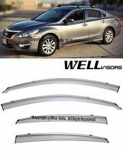 For 13-16 Nissan Altima WellVisors Side Window Visors Rain Guard