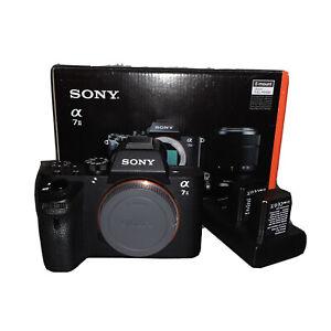 Sony Alpha A7 II 24.3MP Digital Camera - Black (Body Only) | 2 Extra Batteries