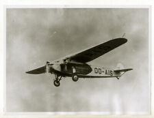 Sabena : Fokker F-VIII Edmond Thieffry, liaison Belgique Congo - Photo 1935