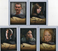 Psych Autograph /& Wardrobe Costume Relic Card Selection NM Cryptozoic