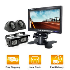 Erapta Backup Camera Ert01 With 4.3 Inch Monitor License Plate for Car Pickup