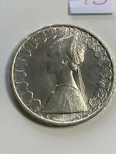 500 lire del1965 qFDC argento Silver 835/1000 Italia Repubblica