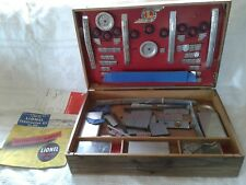 1948 Lionel Construction Kit #565 With Oak Case Complete With Instruction Books