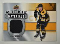 2019-20 Series 2 Rookie Materials #RM-TF Trent Frederic - Boston Bruins