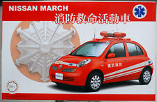 Fujimi 039749 2005 Nissan Micra March 1.4 e 5door Notarzt JDM 1:24 Bausatz