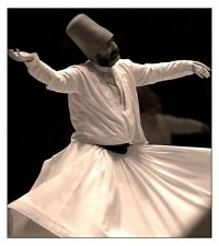 Whirling Dervish Ottoman Sufi Tall Hat fr Turkey Handmade Sheep Camel Wool Felt