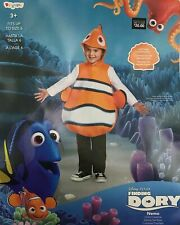 Disney Pixar Finding Dory Nemo Classic Child Costume #10041 One Size ~ Vguc