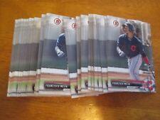 Lot (75) Card #BP51 FRANCISCO MEJIA Indians 2017 Bowman Baseball base cards