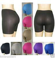 Women Seamless Spandex Shorts Bacis Plain Solid Tight Athletics Pants Trousers