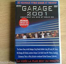 2CD & DVD NEW SEALED - GARAGE 2001 - House Club Pop Music - 2x CD & DVD