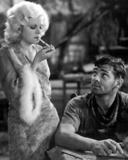 1932 Film RED DUST Clark Gable & Jean Harlow 8x10 Photo Poster Movie Print