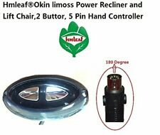 Okin Limoss Pride 2 Button,5 pin Power Recliner or Lift Chair Hand Controller
