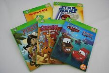 LeapFrog Tag Reading System Books Pirates! Scooby-Doo Cars Star Wars