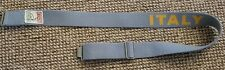 Armani Jeans Casual Belt, Light Blue, Adjustable, Made in Italy, Vintage look