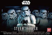 Star Wars Stormtrooper, modelo kit 1/12 de Bandai, nuevo con embalaje original, tropas de asalto