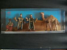 BOXED SET OF PLASTIC THREE WISE MEN BY OLIVER OF SPAIN
