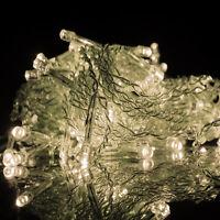 LED String Fairy Lights Indoor Outdoor Curtain Light Xmas Christmas Party Decor