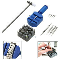 11X Watch Bracelet Band Pin Link Remover Tool Removal Hammer Punch Holder Repair