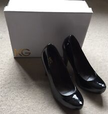 Kurt Geiger KG Black Court High Heel Shoes Size Uk 4