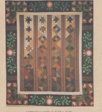 Northern Lily & Southern Rose - pieced & applique quilt PATTERN