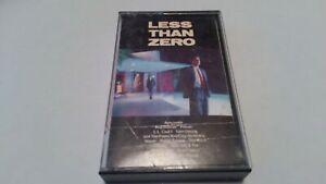 Less Than Zero Soundtrack Cassette 1987 L.L. Cool J Danzig Roy Orbison