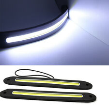 2Pcs Car Styling Driving Day Running Light Waterproof COB Flexible LED DRL Lamp