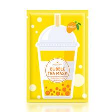 [ANNIE'S WAY] Mango Moisturizing Firming Bubble Tea Facial Mask 5pcs NEW