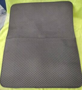 Giant Cat Litter Box Trapper Mat Pad Large Honeycomb with Waterproof Base Layer