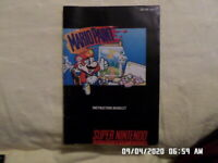 Mario Paint (SNES Super Nintendo) Instruction Manual Booklet Only... NO GAME