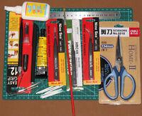 MYGJ05CM  Gundam Modeler Basic Tools Craft Set For Car Model Building Kit NEW