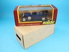 [PR3-015]1/43 SOLIDO AGE D'OR N. 154 FIAT 525 N DEL 1929 NIB FONDO MAGAZZINO