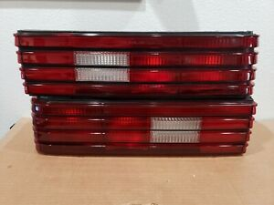 1985-1987 Mercury Lynx Tail Lights Pair With Mounts Left Right MINT See Photos